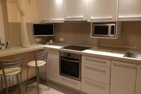 Сдается 1-комнатная квартира посуточно в Нижнем Новгороде, Окская улица, 3.