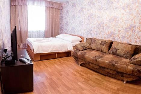 Сдается 1-комнатная квартира посуточнов Тюмени, Олимпийская улица, 42А.