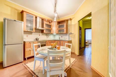 Сдается 3-комнатная квартира посуточнов Санкт-Петербурге, Морская набережная, 35 корпус 6.