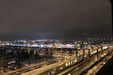 Сдается 1-комнатная квартира посуточно в Санкт-Петербурге, Пулковское шоссе, 14.