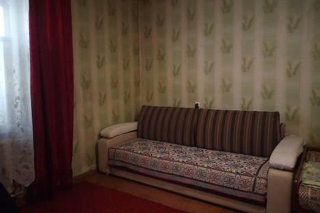 Сдается 1-комнатная квартира посуточно в Лесосибирске, улица Белинского, 40а.