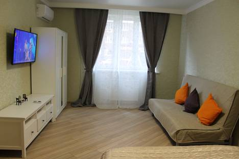 Сдается 1-комнатная квартира посуточно в Краснодаре, улица Айвазовского, 116/1.