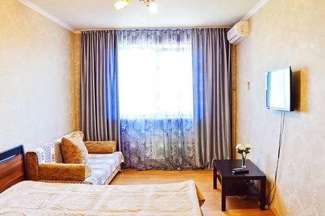 Сдается 1-комнатная квартира посуточно в Краснодаре, улица Ставропольская, 163 корпус 1.