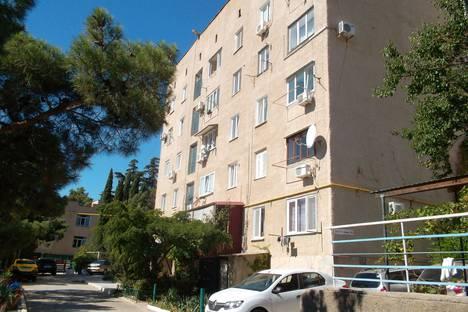 Сдается 1-комнатная квартира посуточно в Новом Свете, улица Голицына, 36.