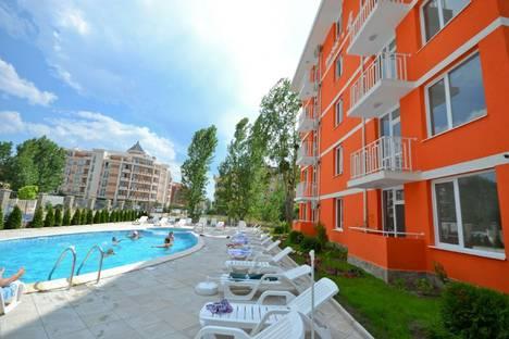 Сдается 1-комнатная квартира посуточно в Несебыре, Слънчев бряг.