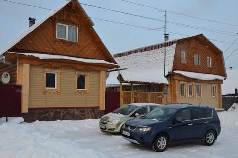 Сдается коттедж посуточно в Трехгорном, д ПЕРВУХА ул Карла Маркса 10.