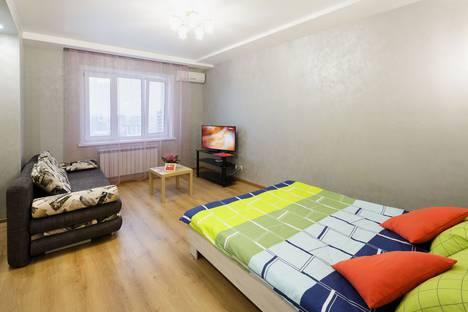 Сдается 1-комнатная квартира посуточно в Новосибирске, ул. Крылова, 34 - 25 этаж.