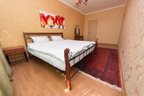 Сдается 2-комнатная квартира посуточно в Астане, проспект Кабанбай Батыра, 11.