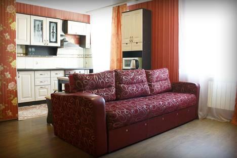 Сдается 2-комнатная квартира посуточно в Бийске, улица Советская, 214.