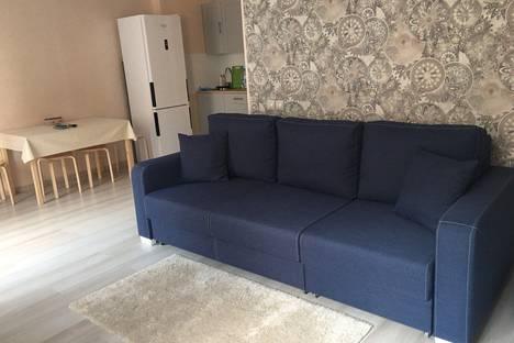 Сдается 1-комнатная квартира посуточно в Янино-1, Кудрово, проспект Строителей, 2.