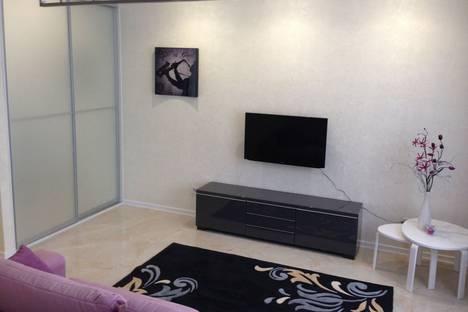 Сдается 1-комнатная квартира посуточно в Красной Поляне, Эстосадок, Березовая улица, 106.