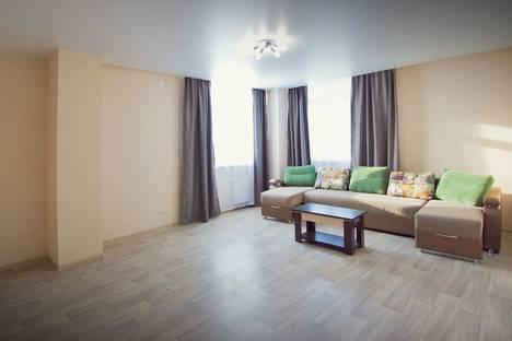 Сдается 3-комнатная квартира посуточно в Красноярске, Авиаторов 45-6.