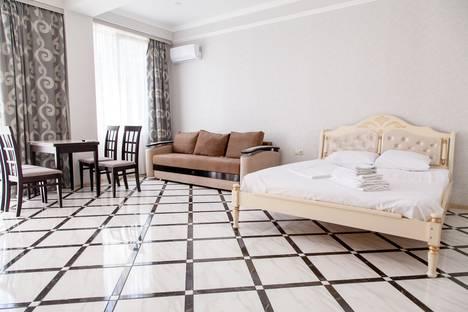 Сдается 1-комнатная квартира посуточно в Адлере, Большой Сочи, улица Ленина, 219.