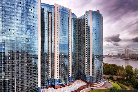 Сдается 2-комнатная квартира посуточно в Санкт-Петербурге, пр. Обуховской Обороны 138к2.