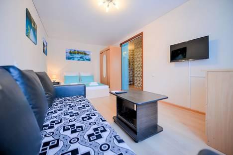 Сдается 1-комнатная квартира посуточно в Челябинске, улица Энгельса, 43А.