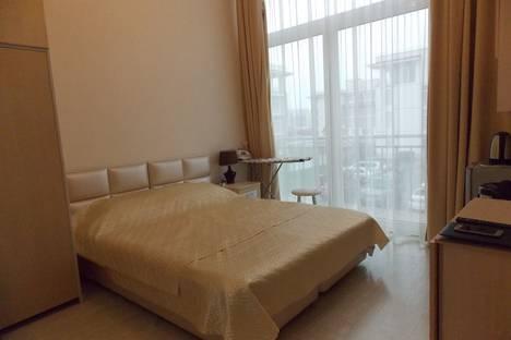 Сдается 1-комнатная квартира посуточно в Адлере, Нижнеимеретинская Бухта, бульвар Надежд, 6.
