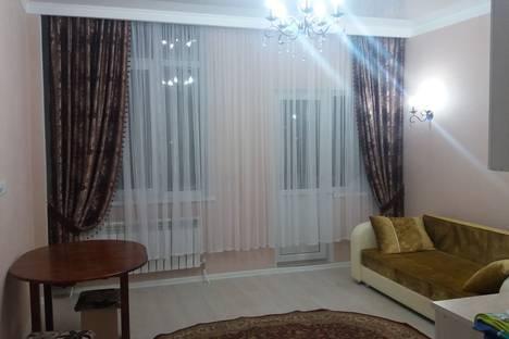Сдается 1-комнатная квартира посуточно в Астане, улица Ильяса Омарова.