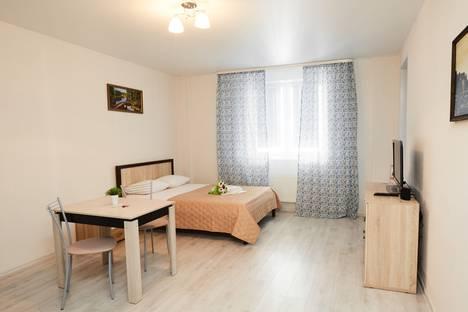 Сдается 1-комнатная квартира посуточно в Тюмени, проезд Геологоразведчиков, 44.
