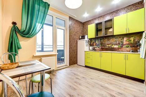 Сдается 1-комнатная квартира посуточнов Санкт-Петербурге, Кременчугская улица, 17 корпус 2.