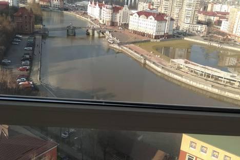 Сдается 2-комнатная квартира посуточно в Калининграде, улица Эпроновская, 1.