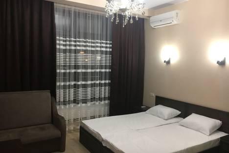 Сдается 1-комнатная квартира посуточно в Адлере, улица Каспийская, 58.