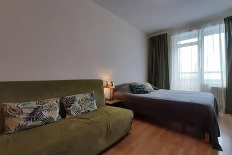 Сдается 1-комнатная квартира посуточно в Санкт-Петербурге, улица Композиторов, 18.