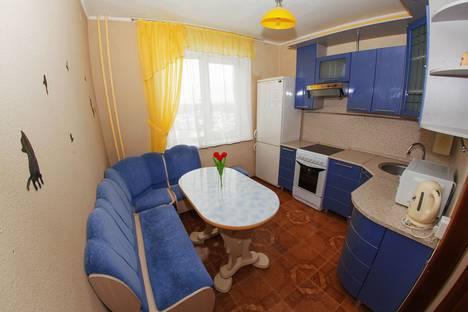 Сдается 1-комнатная квартира посуточно в Тюмени, улица Немцова 4.