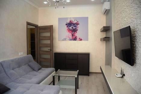 Сдается 2-комнатная квартира посуточно в Алматы, улица Навои, 208.