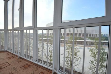 Сдается 1-комнатная квартира посуточно в Краснодаре, улица Восточно-Кругликовская, 18/1.