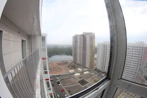 Сдается 1-комнатная квартира посуточно в Красноярске, ул.Карамзина д.16.
