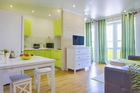 Сдается 1-комнатная квартира посуточно в Тюмени, улица Эрвье, 30/4.