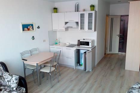 Сдается 1-комнатная квартира посуточно в Адлере, Большой Сочи, улица Чкалова, 13.