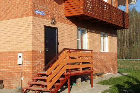 Сдается 1-комнатная квартира посуточно в Вологде, Вологодский район п.Марфино ул.Садовая 23.