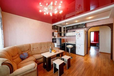 Сдается 3-комнатная квартира посуточно в Кемерове, проспект Шахтеров, 123.