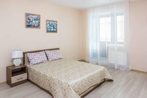 Сдается 1-комнатная квартира посуточно в Тюмени, Харьковская улица, 68.