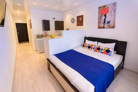 Сдается 1-комнатная квартира посуточно в Звенигороде, Нахабинское шоссе, 1 строение 2.