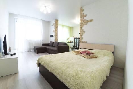 Сдается 1-комнатная квартира посуточно, улица Сибгата Хакима 52.