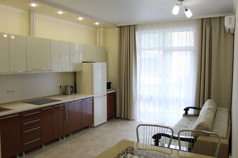 Сдается 1-комнатная квартира посуточно в Геленджике, улица Гоголя, 7.