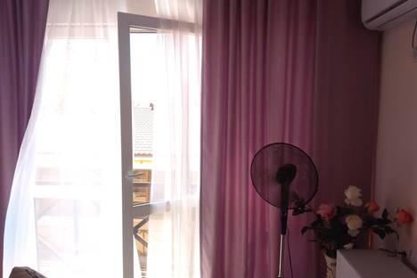 Сдается 1-комнатная квартира посуточно в Адлере, Большой Сочи, улица Каспийская, 46.