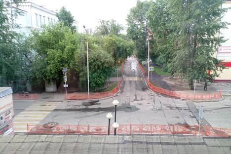 Сдается 2-комнатная квартира посуточно в Иркутске, улица Чехова, 10.