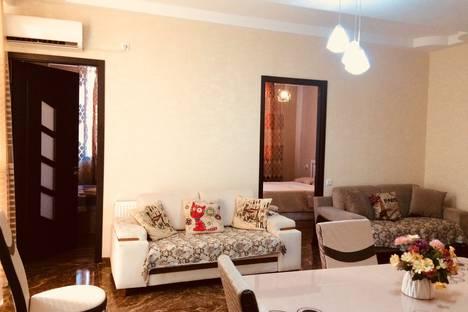 Сдается 4-комнатная квартира посуточно в Тбилиси, Церетели 45.