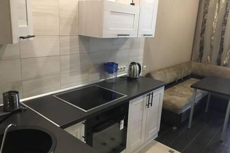 Сдается 1-комнатная квартира посуточно в Новосибирске, улица Лескова, 23.