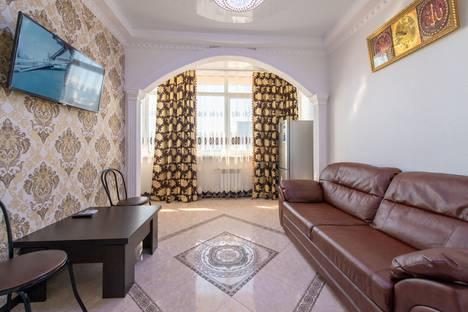 Сдается 3-комнатная квартира посуточно в Адлере, Большой Сочи, улица Просвещения, 118/2.