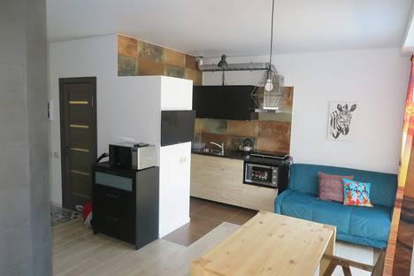 Сдается 2-комнатная квартира посуточно в Адлере, улица Цветочная, 17 корпус 5.