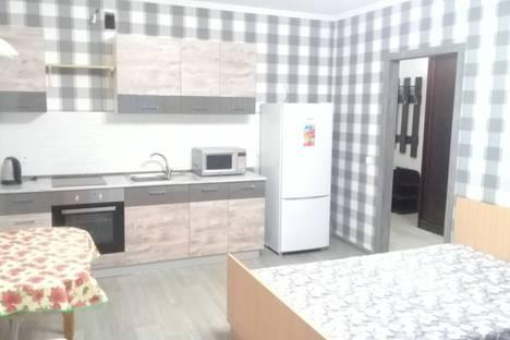 Сдается 1-комнатная квартира посуточно в Тюмени, улица Эрвье, 32.