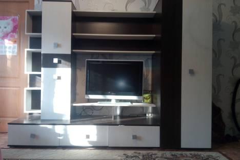 Сдается 2-комнатная квартира посуточно, улица Строителей 21.