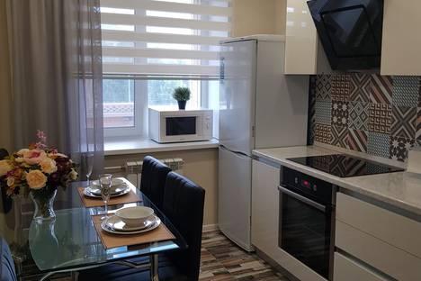 Сдается 1-комнатная квартира посуточно в Казани, улица Татарстан, 9.