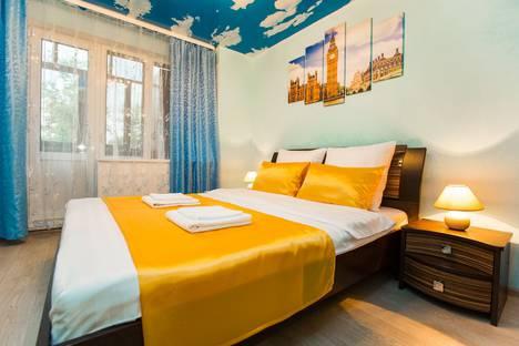 Сдается 2-комнатная квартира посуточно в Сургуте, пр. Ленина, д. 40.