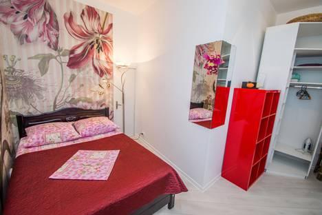 Сдается 1-комнатная квартира посуточно в Гурзуфе, улица Ленинградская, 58.