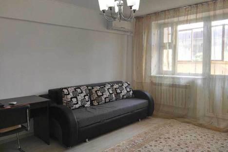 Сдается 1-комнатная квартира посуточно в Актобе, улица Локомотивная дом 7.
